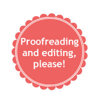 Button for Copy Editing page