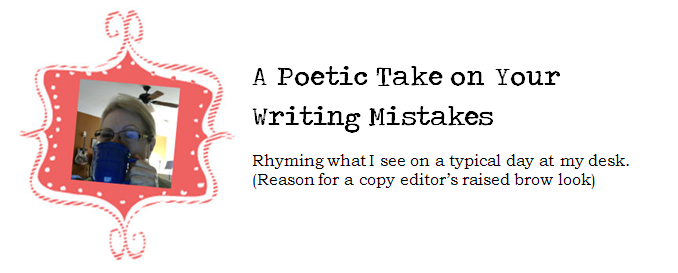 Poetic take on your writing mistakes