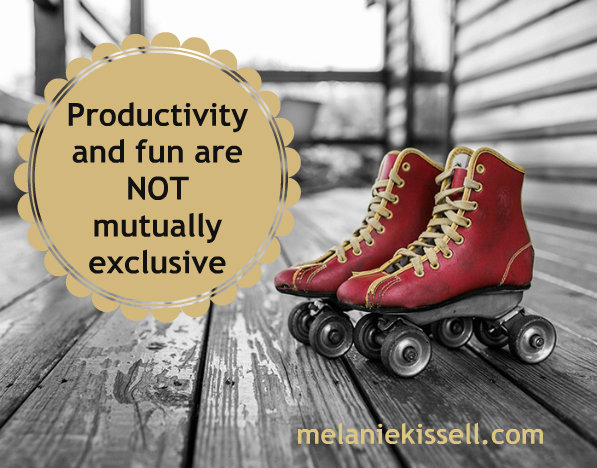Productivity and fun are not mutually exclusive