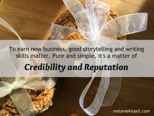 To earn new business, good storytelling and writing skills matter