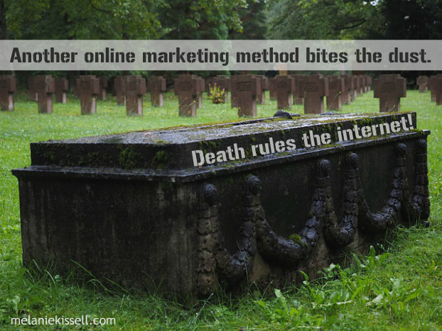 Death rules the internet